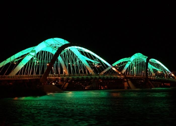 Amsterdam IJburg brug