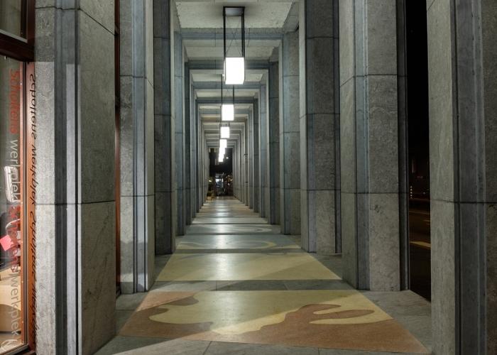 Hallway outside Amadi Panorama Hotel