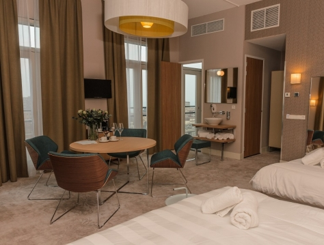 Chambre pour famille Deluxe