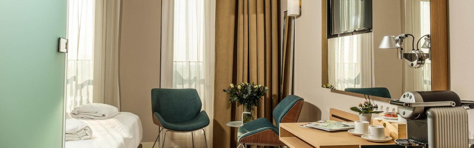 Junior suite (rolstoeltoegankelijk)