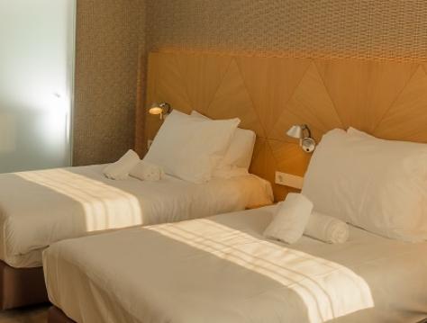 高级豪华双人房(两张床)